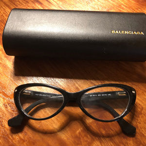 Authentic Balenciaga BA 5013 005 Black Eyeglasses